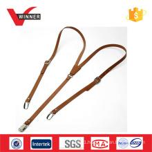 Genuine leather braces suspenders