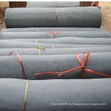 Malla de alambre de acero inoxidable de tejido liso