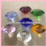 Nice crystal diamond with engraved logo for gift