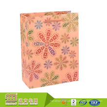 Preiswerte Großhandelskundenspezifische Einkaufs-Waren führen kleine Kraft-Brown-Papiertüte-Verpackung durch