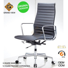 Orginal Version Ribbed Leather Office Executive Chair (GV-EA119)