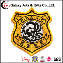 Gifts Promotion Latest Computer Embroidery Designs Clothing Patches Custom Self-Adhesive Embroidered Patches