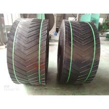 High-Quality Rubber Heat-Resistant Non-Slip Herringbone Ribbed Mining Wild Conveyor Belt