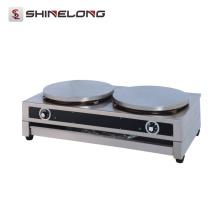 Machine électrique de fabricant de crêpe électrique de double de plaque chaude de la qualité 400mm