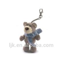 customized OEM design teddy bear keychain