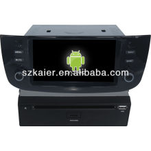 Android System car dvd player for Fiat Linea with GPS,Bluetooth,3G,ipod,Games,Dual Zone,Steering Wheel Control
