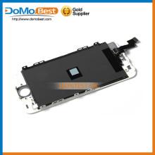 No teléfono móvil lcds ningún pixel muerto pantalla lcd, lcd redondo para el iphone 5s