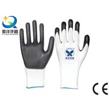 13G Polyester Nitril beschichtet, Schutzmaßnahmen Arbeitshandschuhe (N7002)