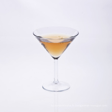 Verre à martini soufflé à la bouche de haute qualité