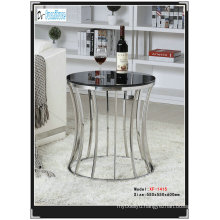 High Gloss Tempered Glass Side Table (WG1511)