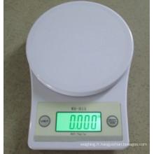 Écran LCD Échelle de cuisine numérique avec arrière-lumière B15L