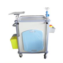 ABS Emergency Trolley Hospital Trolley Hospital Medical Cart Mobile Trolley
