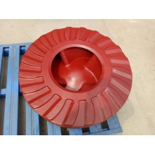 slurry pump spear parts impeller Wrt1