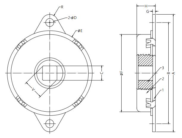 Damper Drawing Application On  Scanner