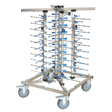 Stainless Steel Dish Trolley