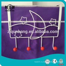 Проводной крюк с выдвижным крючком с красными бусами