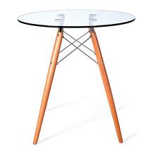 Стекло складной круглый стол