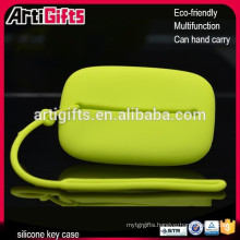 2015 Wholsale cheap handmade silicone Key case