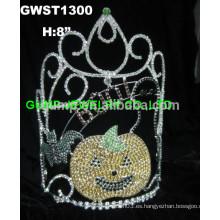 Corona de tiara fantasma calabaza