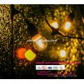 Непромокаемые праздник, свадьба крытый Рождественские украшения RGB света шнура СИД с штепсельной вилкой США и ЕС