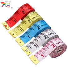 Cinta métrica cubierta de tela de costura de impresión personalizada