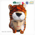Fashion plysch Tiger hatt Partihandel