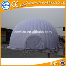 Venta de túnel inflable aire dome, inflable cúpula geodésica