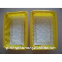 Ome Accept Seafoods and Frozen Food Industry Use Plastic Seafood Tray for Oyster Packaging