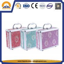 Caja de cosméticos y joyas personalizadas con espejo (HB-2046)