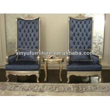 Деревянный стул с высоким спинкой XY4886