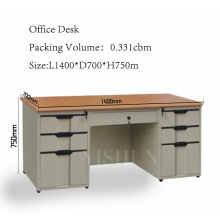 commercial office desk with drawers