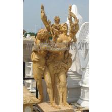 Geschnitzte Marmor Skulptur Carving Stein Statue mit Granit Sandstein (SY-X1686)
