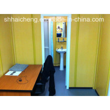 Bürocontainer mit individueller Dusche und WC Kabine (shs-fp-office062)