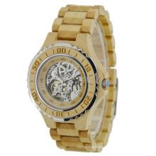 New Style Japan Automatic Movement Wooden Fashion Watch Bg438