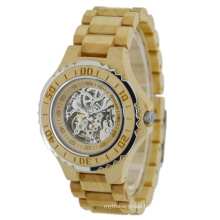 New Style Japan Automatic Movement Wooden Fashion Watch Bg438