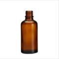 Cosmétique de bouteille en verre ambre de 5ml-100ml pour l'huile essentielle