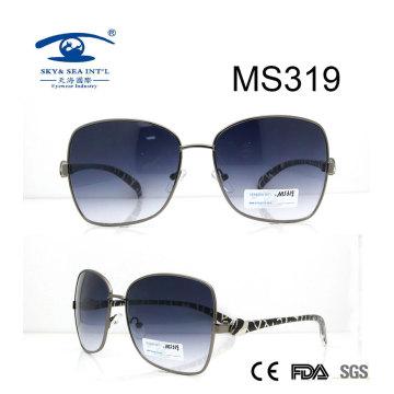 Grandes gafas de sol de metal caliente de gran tamaño (MS319)