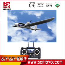 large scale rc airplane H301F 2.4G 4CH sky hawk rc airplane 4 Channel FPV Transmitter Spy Video Crashproof