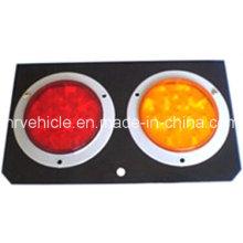 Lámpara LED Stop Turn Turn para remolques con almohadilla de acero