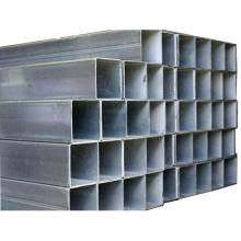 MS Galvanized steel pipe/ galvanized hollow section tube