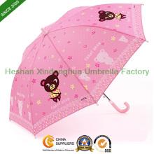 Qualität Fiberglas Kinder Kind Regenschirm für Jungen und Mädchen (Kind-1019ZF)