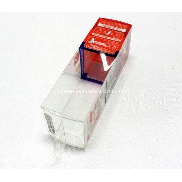 UV Offset impressão PET / PVC / PP Soft vinco caixa de plástico (PP pacote de presente)