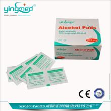 Medizinische Alkoholzubereitung Pad