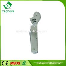 9 en 1 herramienta de llave de mano de acero inoxidable de múltiples funciones