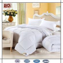 Гуанчжоу Поставка 200GSM стеганый стиль гусиной пух заполнить отель одеяло набор