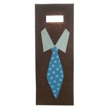 Винные мешки из войлока с галстуком