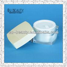 Квадратные формы Роскошные акриловые банки для косметической упаковки 50г
