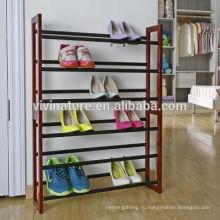 Высокое качество 3 уровня: рама из стальной трубы хромированные трубы для одежды обуви