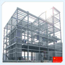 Estructura de marco de acero prefabricado de la mejor calidad del bajo costo de Wiskind