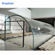 Grandview acrylic sheets factory  for 10 m long  large aquarium clear  tunnel